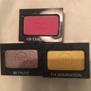 Bundle of 3 new Chanel eyeshadows